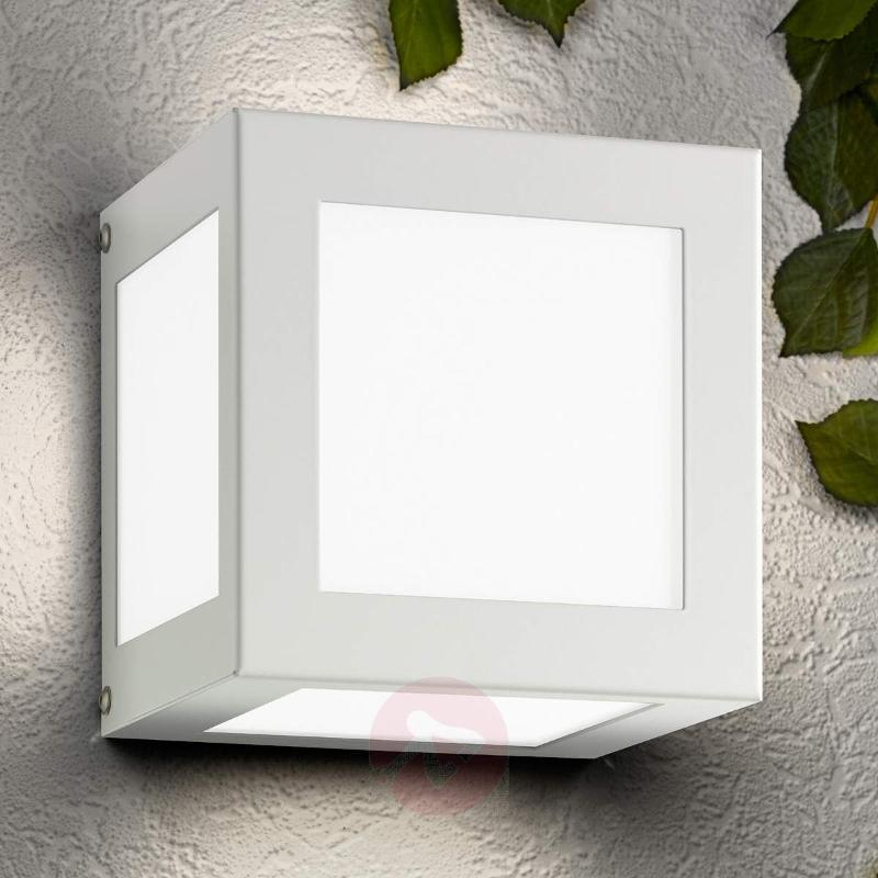 Cubo Cube-shaped Exterior Wall Lamp - Outdoor Wall Lights