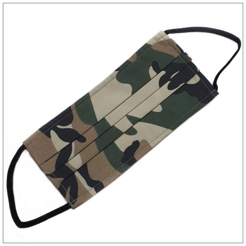 Masque 3 Plis Camouflage - null
