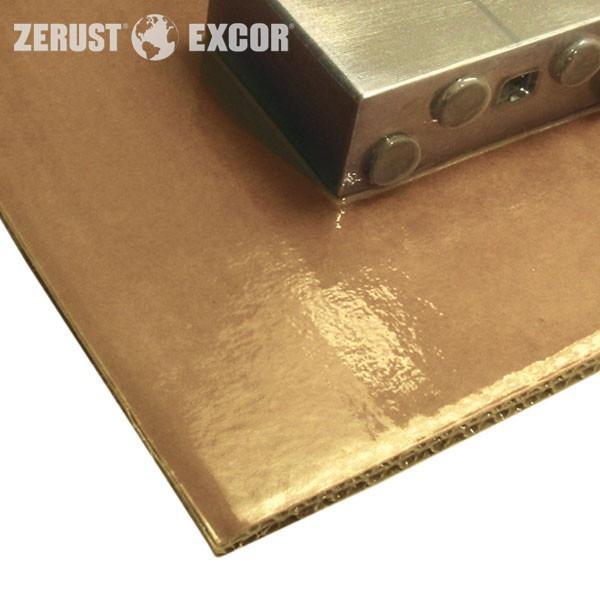 VCI-Cartone skin ABRIGO - Vassoio con protezione contro la corrosione per l'imballaggio della pelle