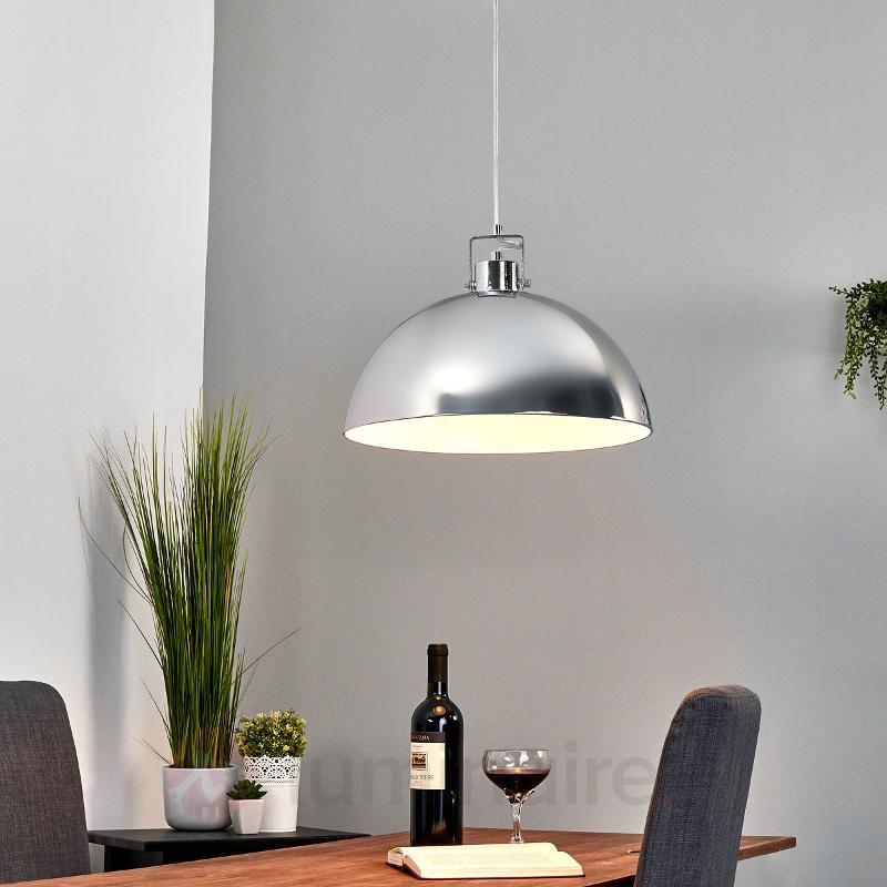 Suspension chromée brillante DIJA - Cuisine et salle à manger