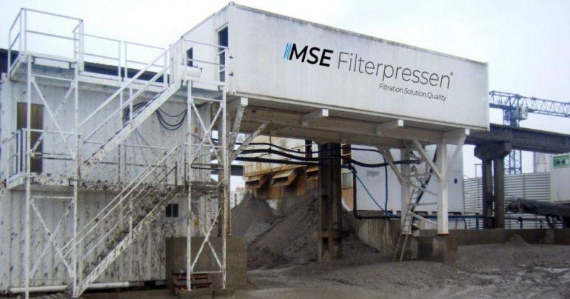 Filtropressa semi-mobile - La filtropressa semi-mobile - applicabile in modo flessibile e pronta all'uso