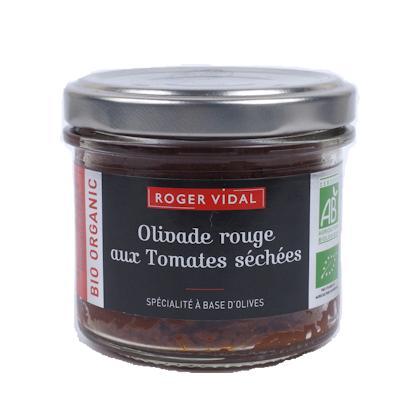 BIO - Olivade Rouge aux tomates séchées 90G - Epicerie salée