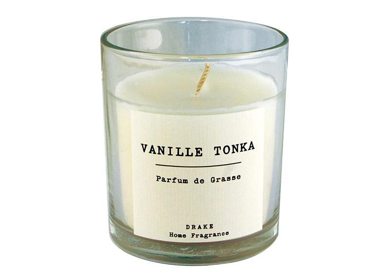 BOUGIE PARFUMÉE - VANILLE TONKA - Collection Vintage 100% Végétale