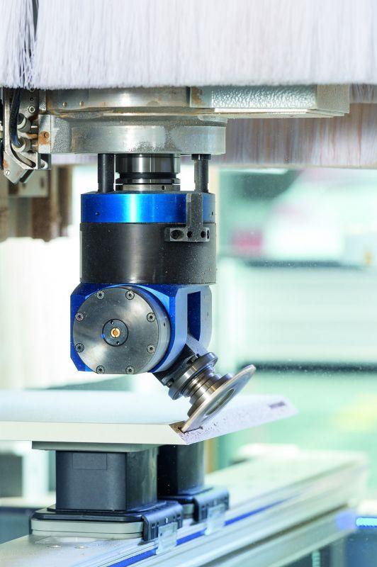 Schwenkkopf FLEX5+C/5-Motion Plus (automatisch verstellbar) - CNC Aggregat zur Bearbeitung von Holz, Verbundwerkstoff und Aluminium