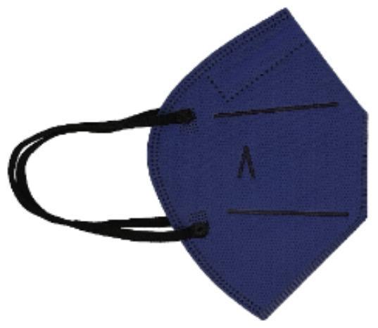 Hygienic Mask Plus Reusable BLUE NAVY - KIDS