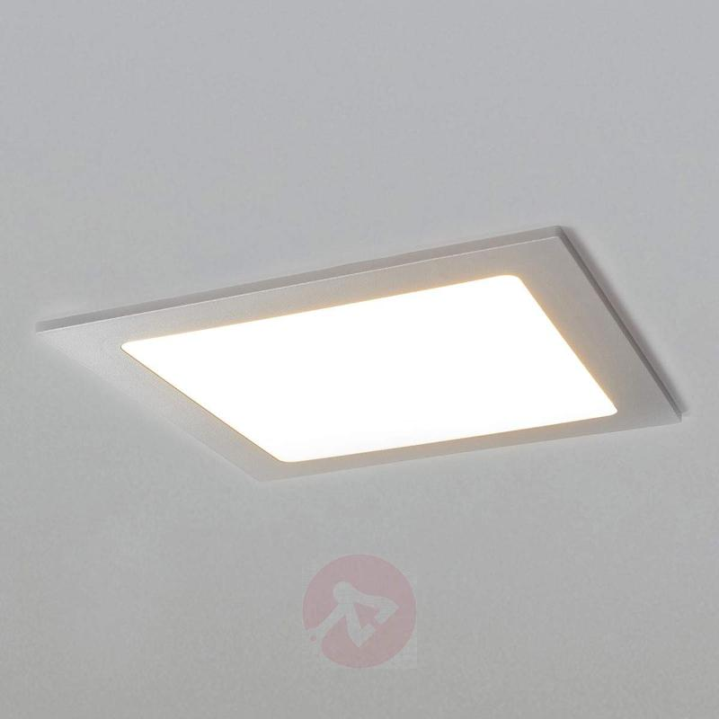 Led downlight joki in silver ip44 recessed spotlights lights led downlight joki in silver ip44 recessed spotlights mozeypictures Gallery