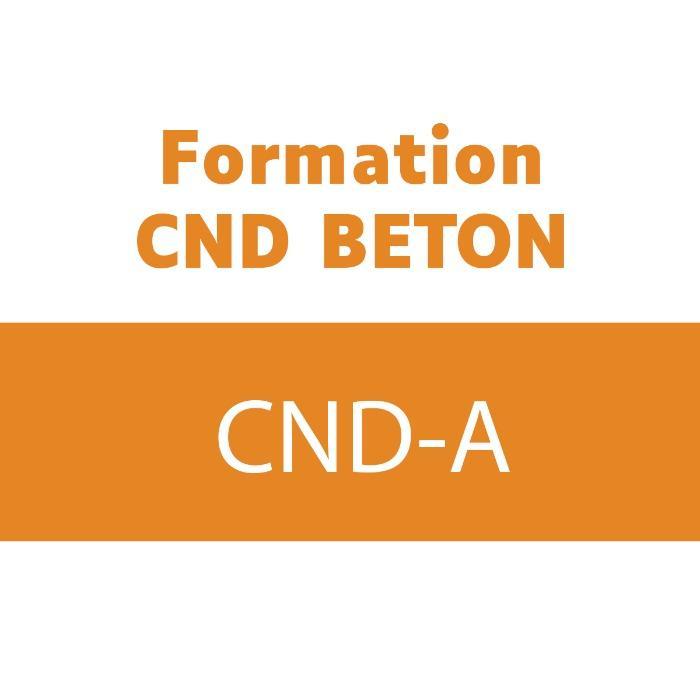 Formation aux méthodes d'auscultation de structures béton - Réf. Formation : CND-A