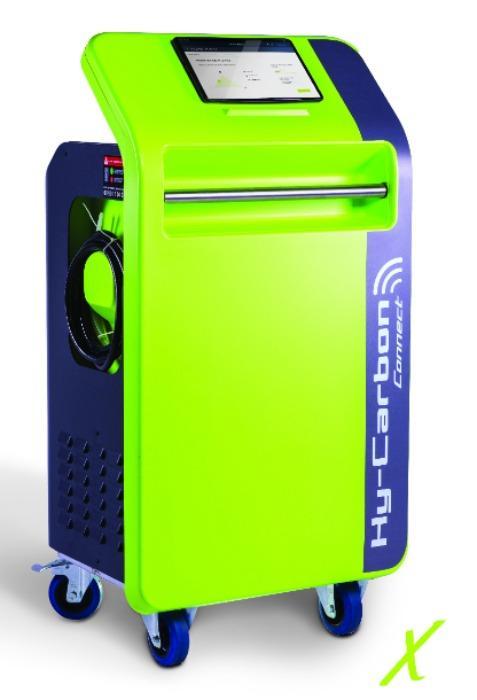 Station de décalaminage • Hy-Carbon Connect  - Machine de décalaminage moteur par injection d'hydrogène