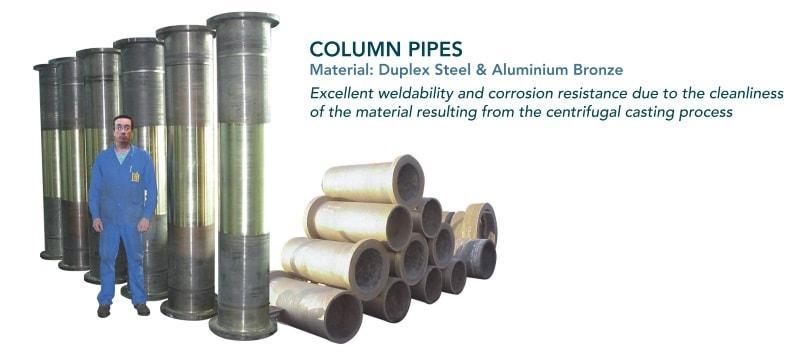 Tube de refoulement - Composants pour pompes verticales