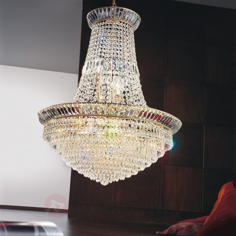Lustre en cristal imposant New Orleans 60 cm - Lustres en cristal