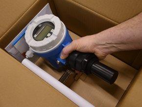 debit mesure produits - debitmetre electromagnetique promag 10W