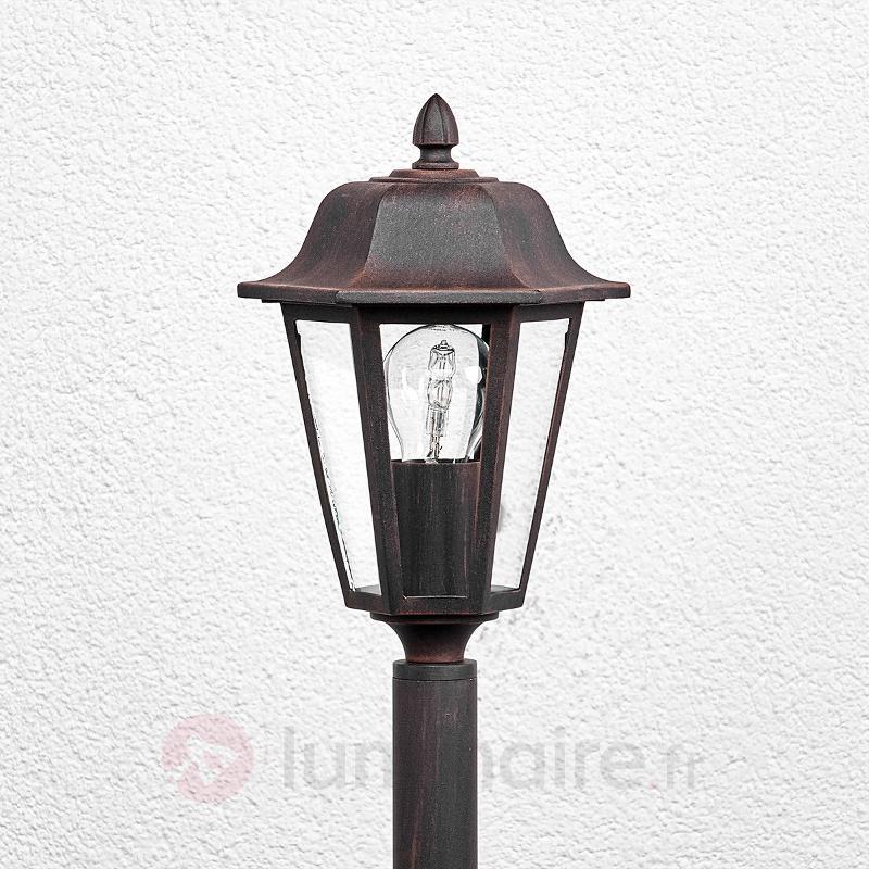 Borne lumineuse Lamina aspect rouille - Toutes les bornes lumineuses