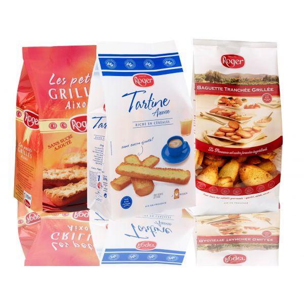Breakfast crackers - null