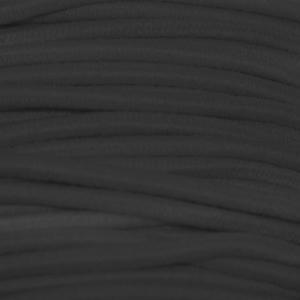 Cordon élastique (2 mm - Polyester - Noir) - Cordons