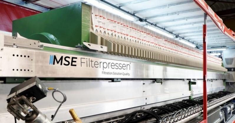 Filtropressa mobile - La filtropressa mobile: sistema completo per il drenaggio senza complicazioni