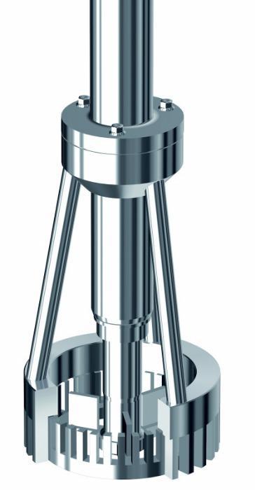 X-batch dispergeringsenhed - ystral teknologi i laboratorie- og teknikum-målestok