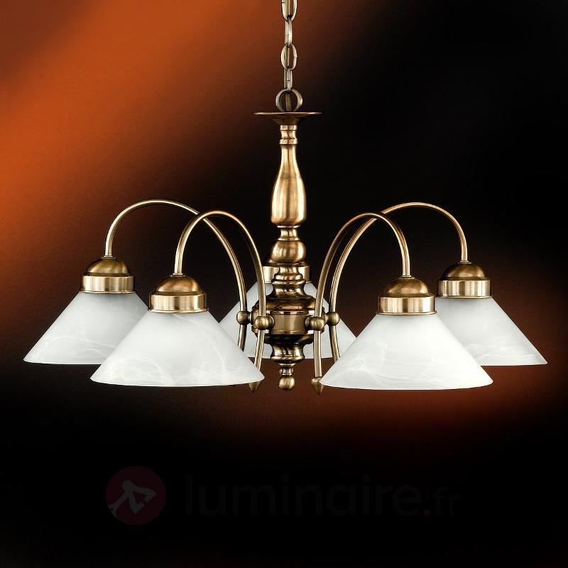 Suspension ANTWERPEN 5 lampes - Suspensions classiques, antiques