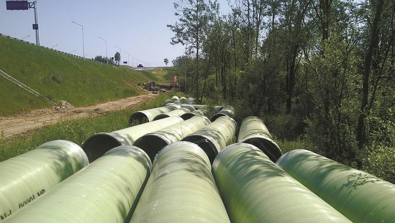 STEKON fiberglass pipe culverts - composite materials