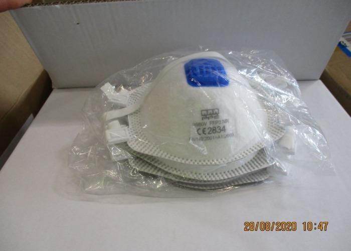 FFP3 NR Valved Mask - QQQ PPE 9980V