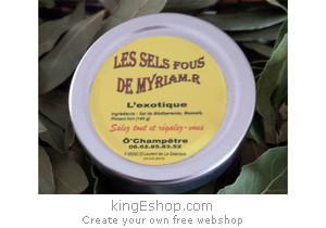 """Sel du Roussillon """"L'Exotique"""" - Référence : 00TGFSLDM"""
