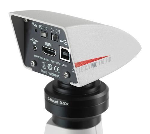 Leica MC170 HD - Cámara de microscopio HD de 5 megapíxeles