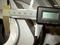 Pièces en aluminium par coulée coquille - construction mécanique