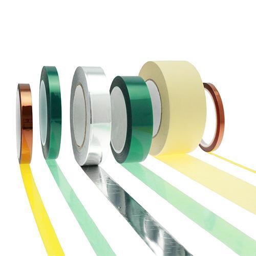 Cintas de alta temperatura - Cintas de enmascaramiento de recubrimiento en polvo, cintas de película de alta