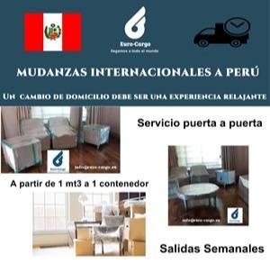 Mudanzas a Perú - Desde España