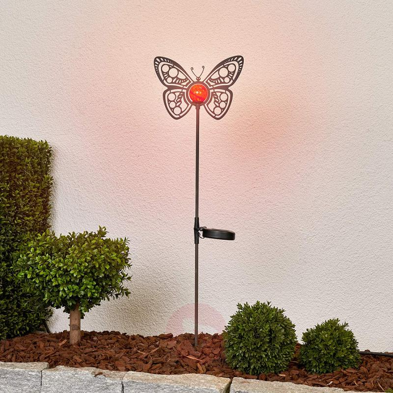Beautiful LED solar light Butterfly for decoration - outdoor-led-lights