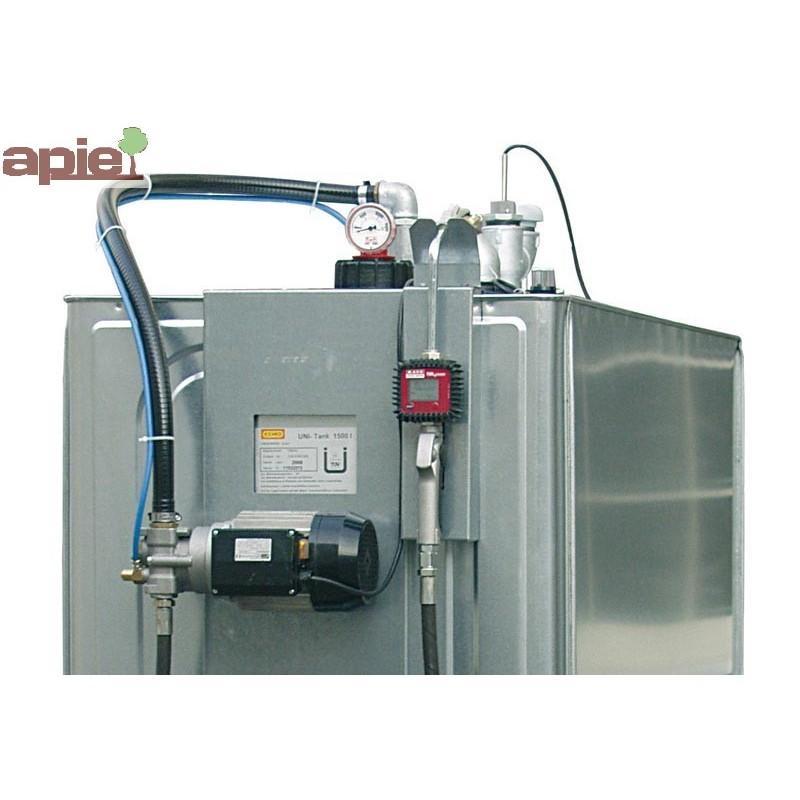 Station de distribution 1000 L pour huiles neuves - Référence : STATION/LUB/1000/E
