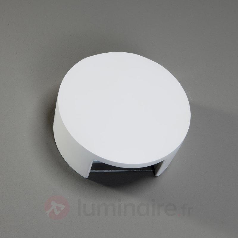 Applique LED Meena en plâtre - Appliques LED
