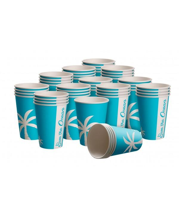 180ml Paper Cup Save The Ocean Edition - Cups