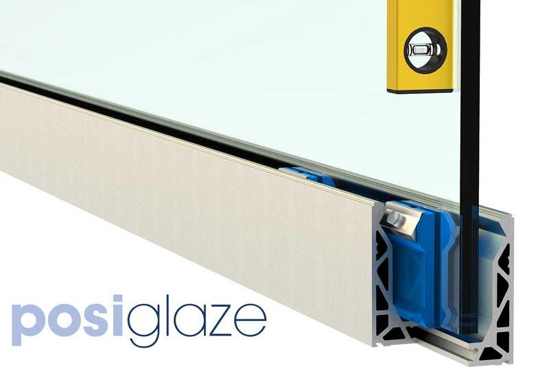 Posi Glaze  - Frameless Adjustable Glass Balustrade