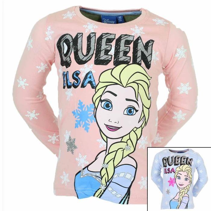 Hurtownik Licencja Koszulka z długimi rękawami Frozen  - Koszulka z długimi rękawami