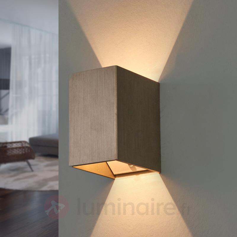 Applique LED Bianka salle de bains, en aluminium - Appliques LED
