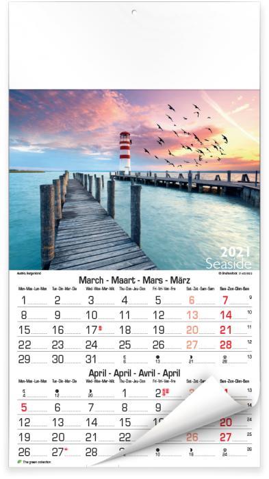 Calendriers illustrés - Seaside