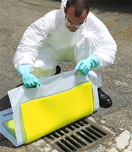 Protection égouts polyuréthane 80 cm - Equipement ADR - OBT 8080 PP Equipements ADR-Obturateurs