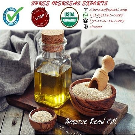 Organic Sesame Seed Oil - USDA Organic