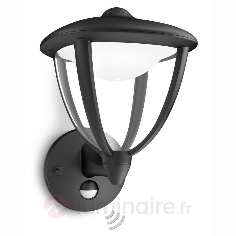 Applique d'extérieur LED Robin avec détecteur - Appliques d'extérieur avec détecteur