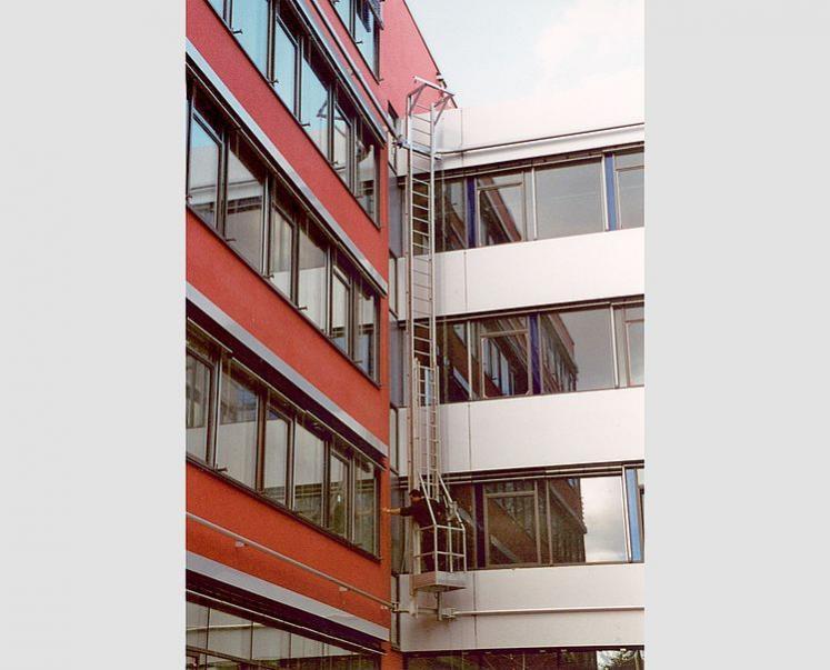 GEDA Leiteranlagen - GEDA Leiteranlagen - Fassadenbefahranlagen