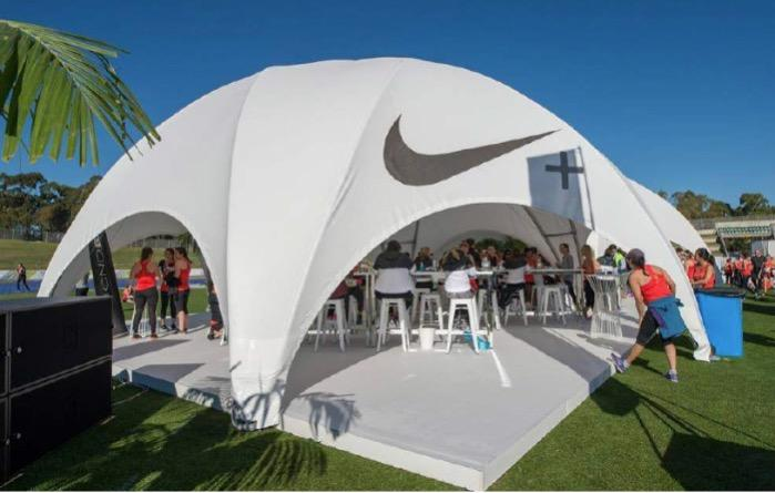 Crossover tent - Crossover tent for events