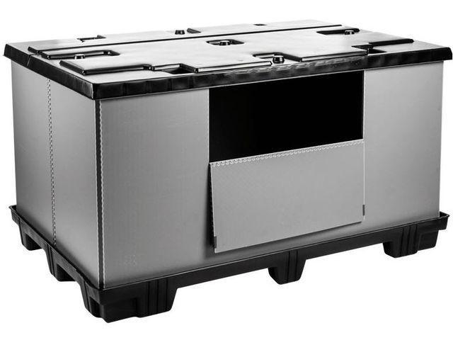 Faltbarer Großbehälter: Mega-Pack 1800 - Faltbarer Großbehälter: Mega-Pack 1800, 1820 x 1200 x 1000 mm