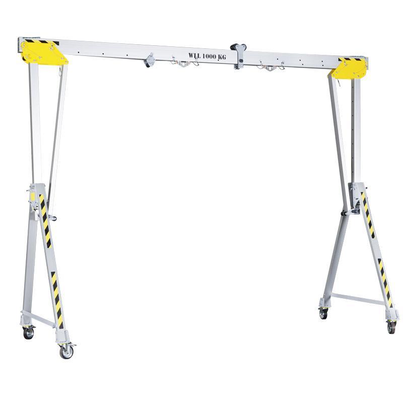 Aluminium gantry crane RLPK - Aluminium gantry cranes