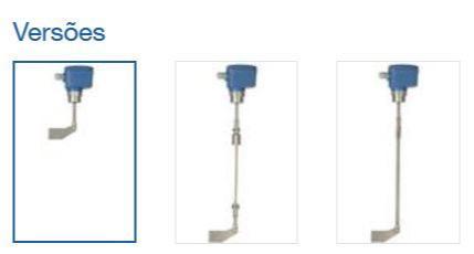 Chave de nível com pá rotativa Rotonivo® RN 4001 - Detector de Cheio, Demanda ou Vazio - para medição pontual de nível