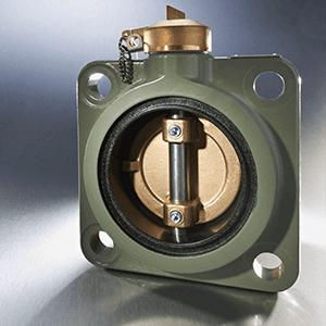 Wafer type radiator butterfly valve for transformers