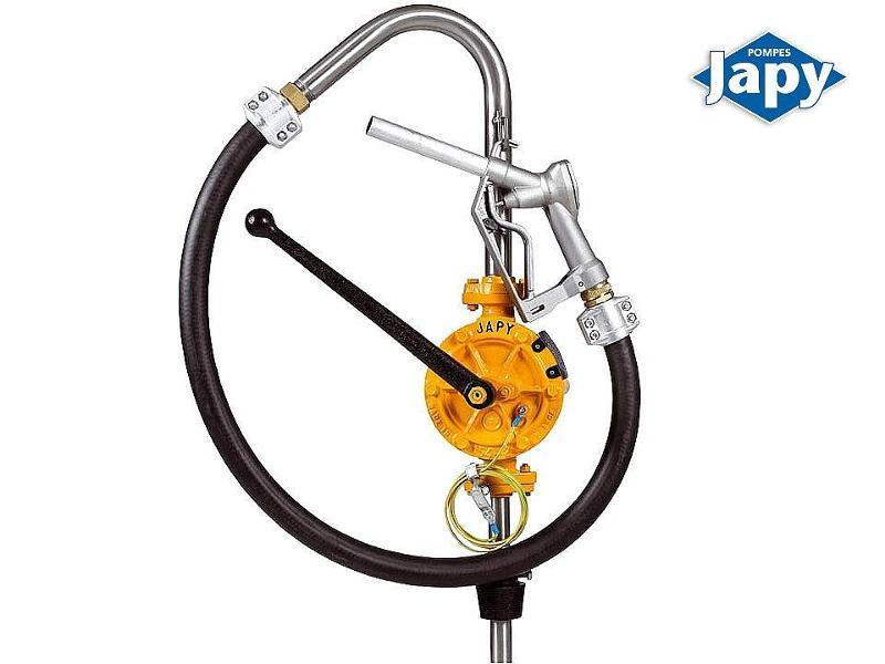 Pompe manuelle équipée semi-rotative - ATEX - FAT0 - FAT1 - FAT0 - FAT1A - FAT2  - null