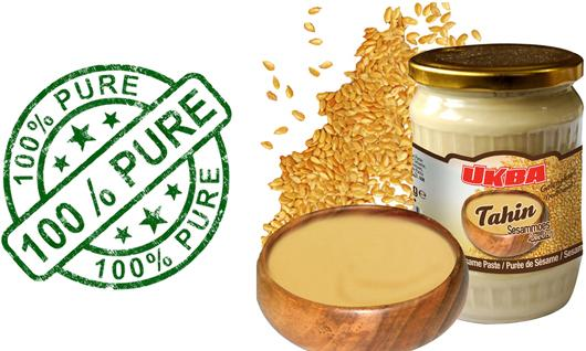 Sesame paste, Tahini, - Hight Quality % 100 made by Sesame seeds
