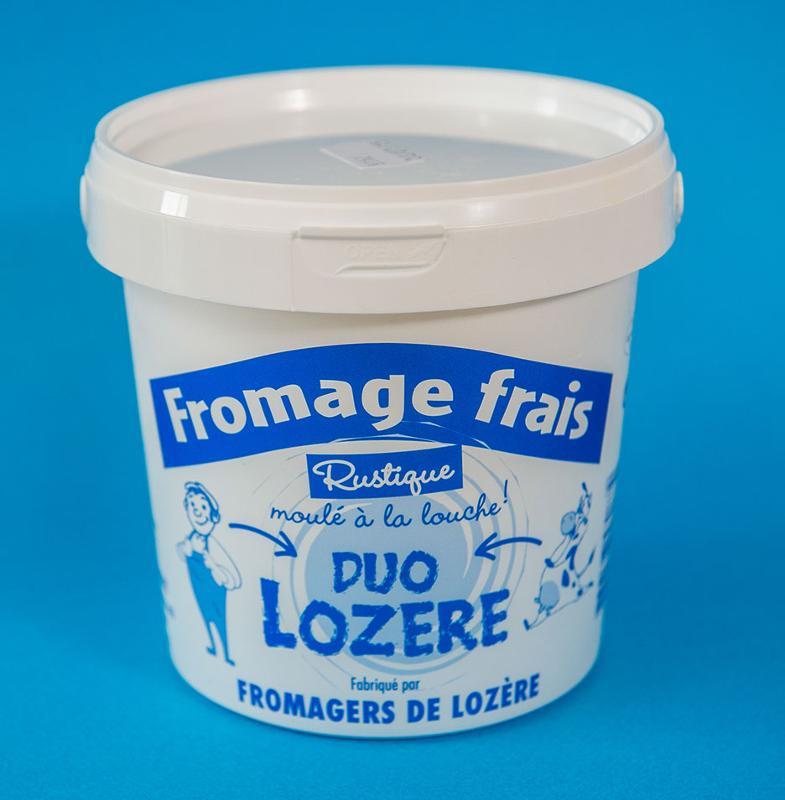 Fromage blanc Rustique 1KG - Produits laitiers