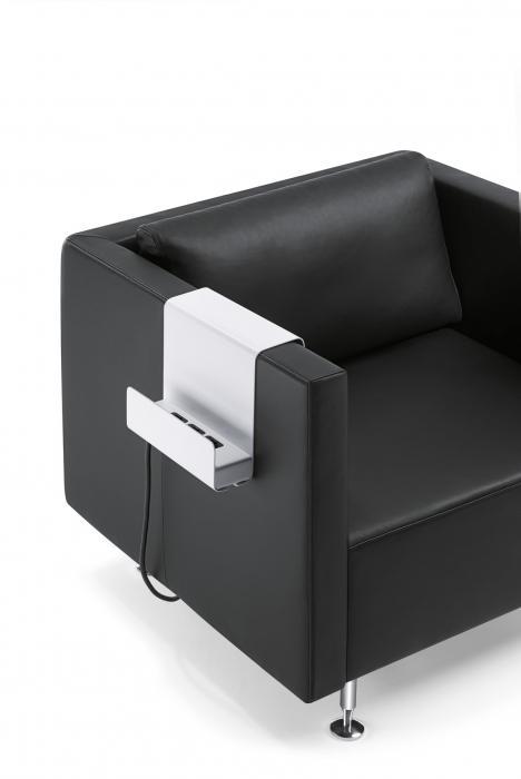 Sièges d'attente, Lounge Chair et tables basses - Fauteuils et canapés Sedus, Sopha