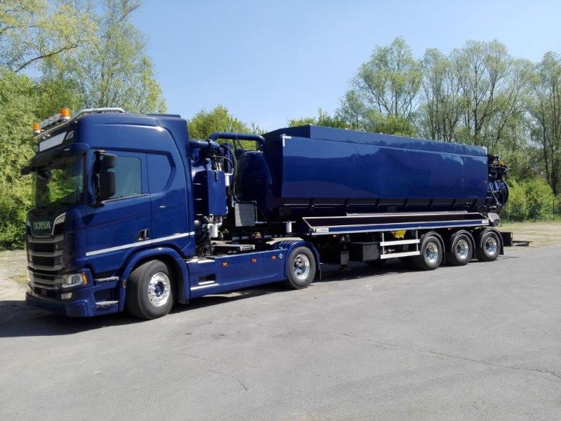 Semi-trailers 2- Or 3-axle Chassis - Waste & Cleaning